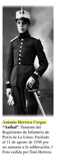 Antonio Herrera Corpas, fusilado el 10 de agosto de 1936