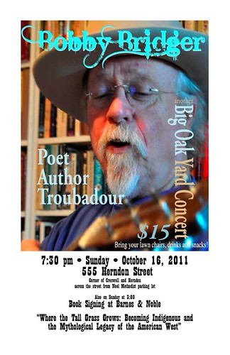 Bobby Bridger, troubadour by trudeau