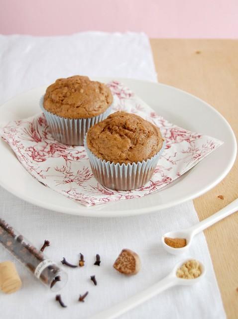 Spice muffins / Muffins de especiarias