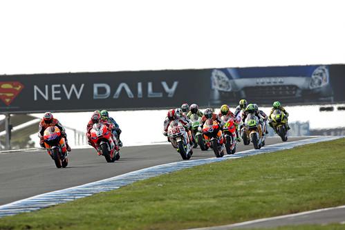 Salida GP Australia MotoGP 2011