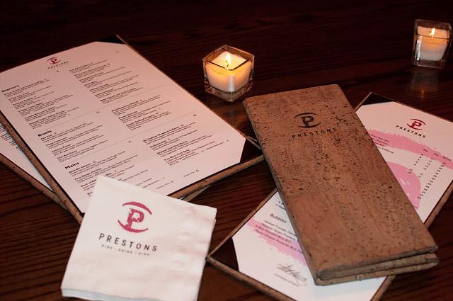 Dine Prestons event
