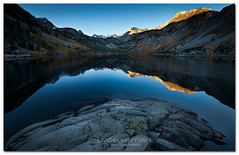 Rise and Fall (Livi Dela Victoria) Tags: sunset lake mountains art fall nature sunrise relax photography artwork highway alone branch mirrorlake awesome fineart fine peaceful bluesky twig rise clearsky fineartphotography waterreflection 395 mountainsunset lakereflection lakesabrina earlysunrise mountainsunrise peacefulmoment riseandfall beautifulcapture lividelavictoria