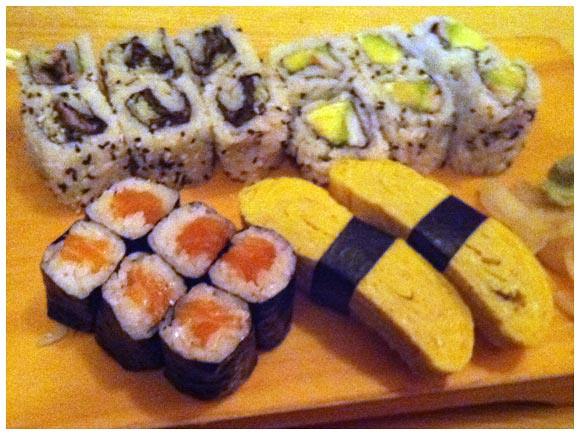 Sushi platter - Shogun, Geneva