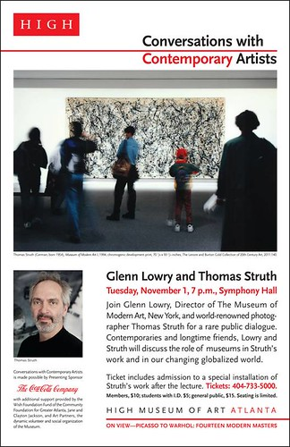 Thomas Struth in Conversation at the High Museum of Art, Nov. 1st