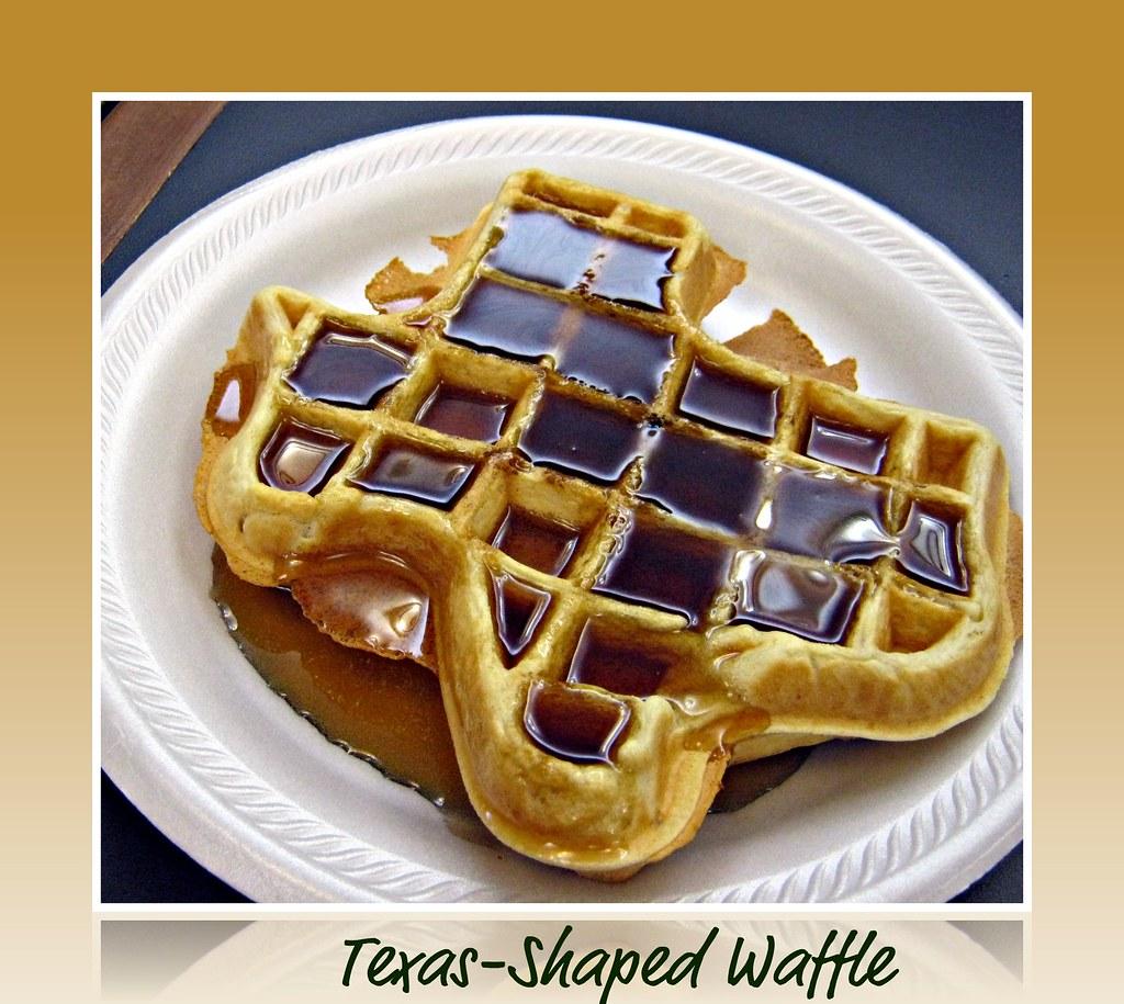 Texas-Shaped Waffle