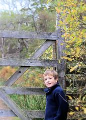 Start of the Walk (WeeWifie) Tags: mountain mountains fence landscape scotland gate walk hill scottish hills hillside fencepost gairloch flowerdale woodengate westcoastscotland scottishlandscape scottishmountains flowerdalefalls scottishmaintain