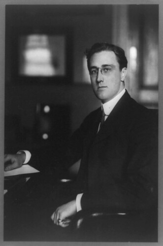 Franklin Roosevelt, 1913 by John McNab