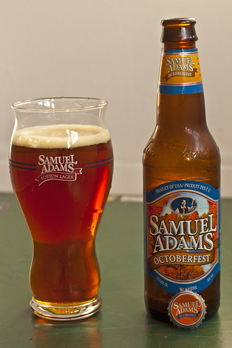 Review: Sam Adams Octoberfest by Cody La Bière