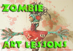Zombie-Art Lessons (pickledpunk) Tags: sculpture art halloween monster painting doll drawing zombie horror undead lowbrow artlessons walkingdead