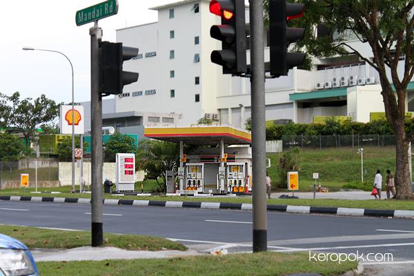 Shell Petrol Kiosk
