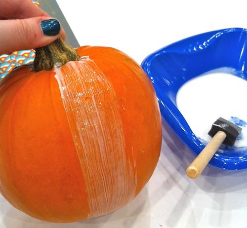 mod podge pumpkins 3