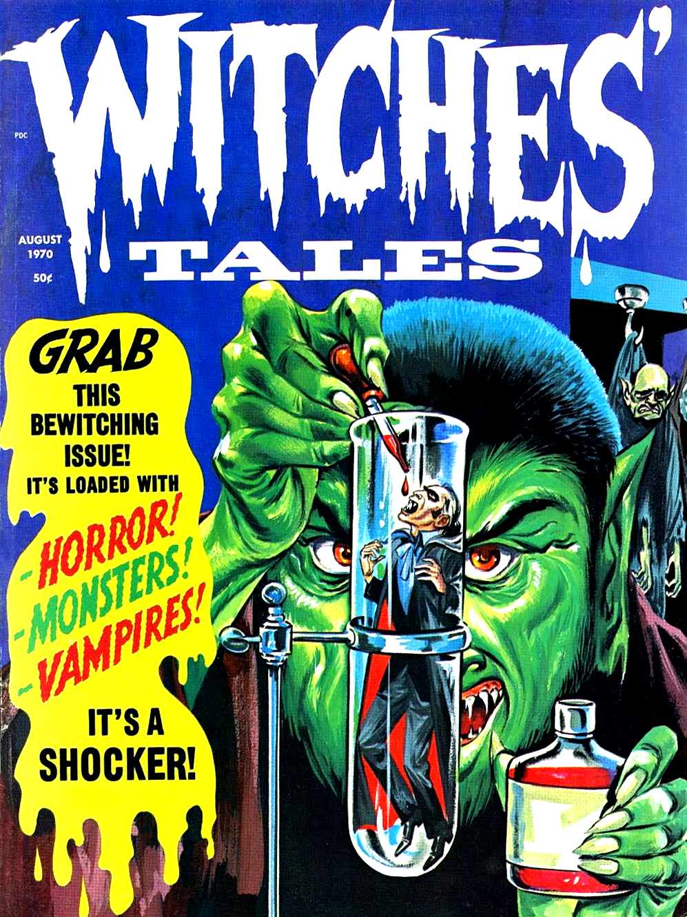 Witches' Tales Vol. 2 #4  (Eerie Publications 1970)