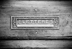 Plate mail vintage (Aldo_Vigliotti) Tags: lettere vintagephoto platemail