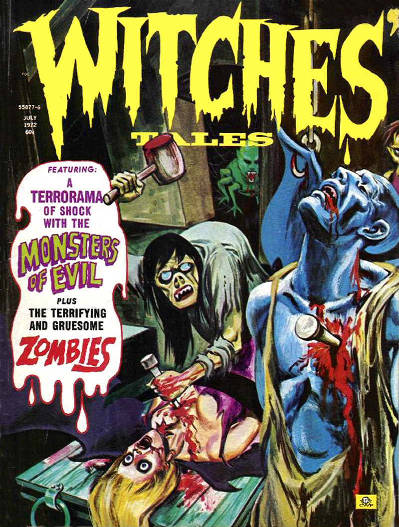 Witches' Tales Vol. 4 #4 (Eerie Publications 1972)