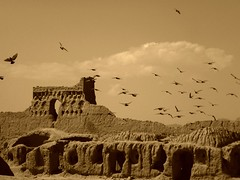 Tappeh Hessar (peggyhr) Tags: friends sky castle birds sepia clouds ruins iran textures iranian garrison damghan wow1 finegold thegalaxy superphotographer topseven 25faves natureplus peggyhr flickrbronzeaward landscapesdreams peaceawards historicalandarchitecturalgems 100commentgroup artofimages creativeyeuniverse visionaryartsgallery lomejordemisamigos ringexcellence nossasvidasnossomundoourlifeourworld avpa1maingroup level1photographyforrecreation thethreeangelslevel1blueangel tappehhessar blinkagainforinterestingimages redgroupno1 yellowgroupno2 bluegroupno4 p1140066ap