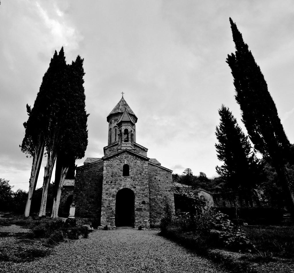 Der Klosterkomplex von Ikalto