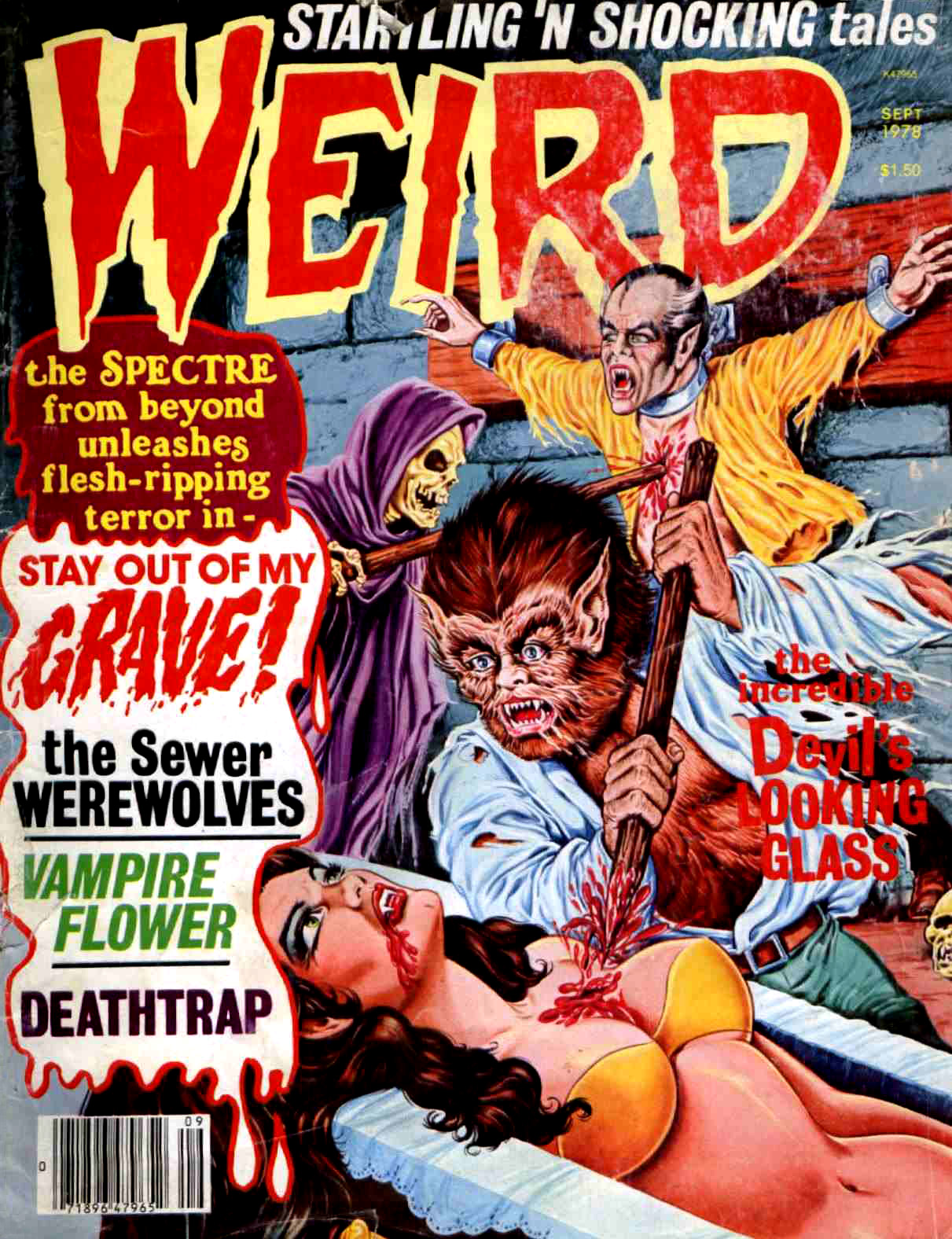 Weird Vol. 11 #3 (Eerie Publications, 1978)