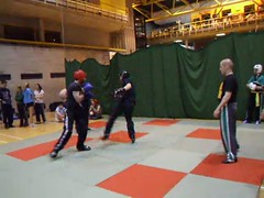UCD TKD vs Lau Gar - UCD Sports Centre (October 2011) (irlLordy) Tags: ireland dublin club ian video october kick spar tkd ucd kickboxing sportscentre laugar 2011