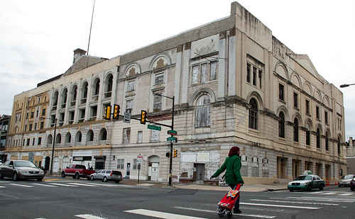 The Metropolitan Opera House, located at 858 N. Broad St., was built for Oscar Hammerstein I in 1908. The building is in a state of disrepair, but the Holy Ghost Headquarters Revival Center at the Met is working with the North Philadelphia Community Devel