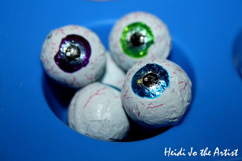 Chocolate Candy Eyeballs