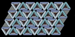 trialangulation (Marguerite1997) Tags: triangles patterns symmetry balance zentangles