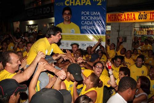 ROCINHA | UPMMR - ELEIÇÕES 2011 - A força da Chapa 2