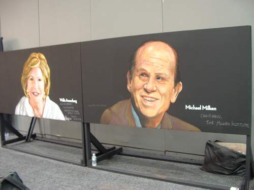 Portrait of Michael Milken by elle3b
