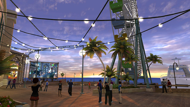 PlayStation Home: Play Pier