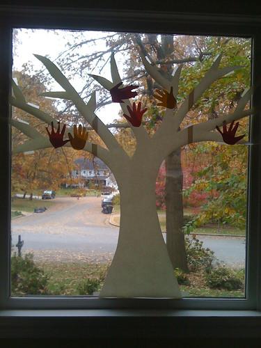Last year's tree