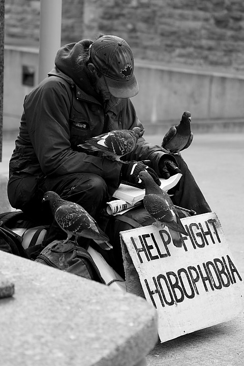 Please - help fight Hobophobia