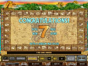 Golden Jaguar bonus game