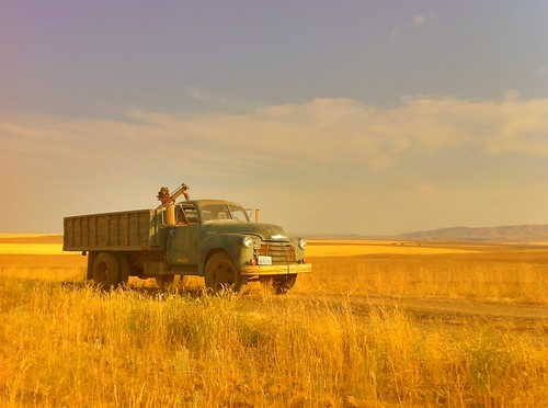 """Old Truck - Waterville, Washington • <a style=""""font-size:0.8em;"""" href=""""http://www.flickr.com/photos/20810644@N05/6310024173/"""" target=""""_blank"""">View on Flickr</a>"""