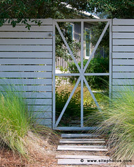Rosemary_Beach-241 (www.sitephocus.com) Tags: wood wall fence gate unitedstates florida steppingstones ornamentalgrass rosemarybeach