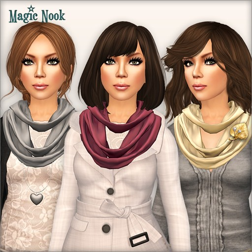 [MAGIC NOOK] Highland Scarf - Example outfits