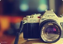 Canon AV-1 (Yavanna Warman {off}) Tags: old canonav1 film analog canon vintage eos 50mm dof bokeh cameras f18 oldstuff analogcamera milde yavanna 1000d yavannawarman