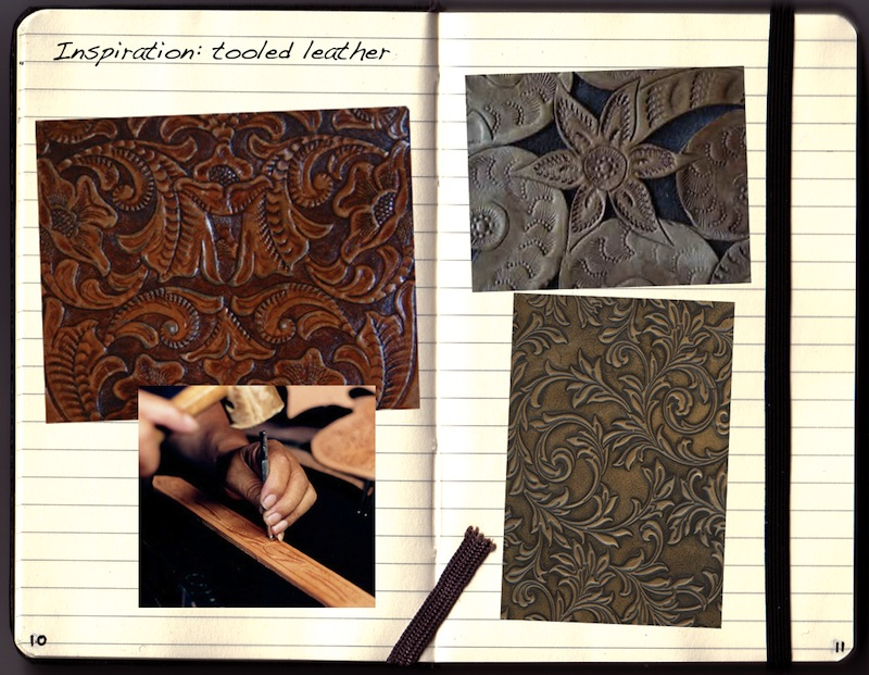 Tooled leather inspiration