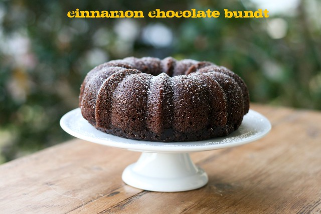 Cinnamon Chocolate Bundt - I Like Big Bundts 2011