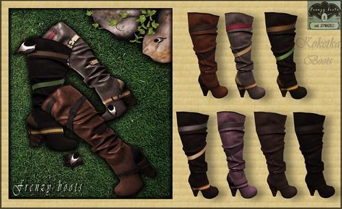 Koketka - Frenzy boots