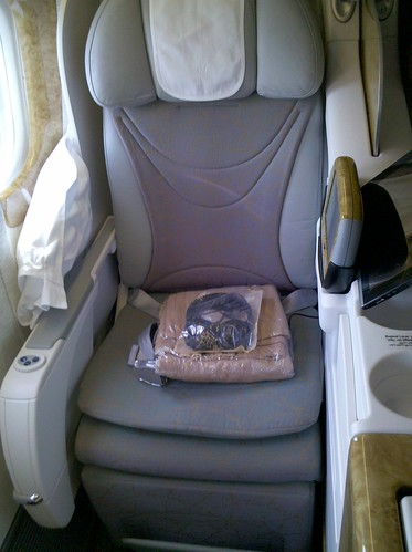 Emirates Business Class Seat