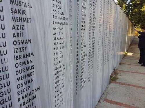 Hősők fala... Egy a sok közül...