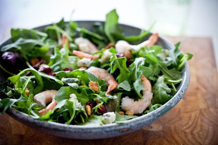 Shrimp & Arugula Salad