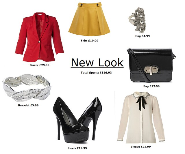 new look outfit 116.93