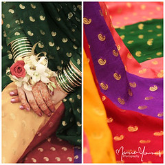 Pre-Wedding Party (Maria Yousuf) Tags: pakistani mehndi bangles prewedding dholki churiyaan pakistaniclothes flowerbracelets coloredclothes