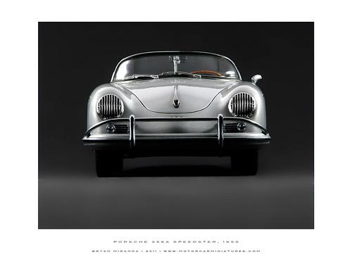 Porsche 1955 356a Speedster - Silver
