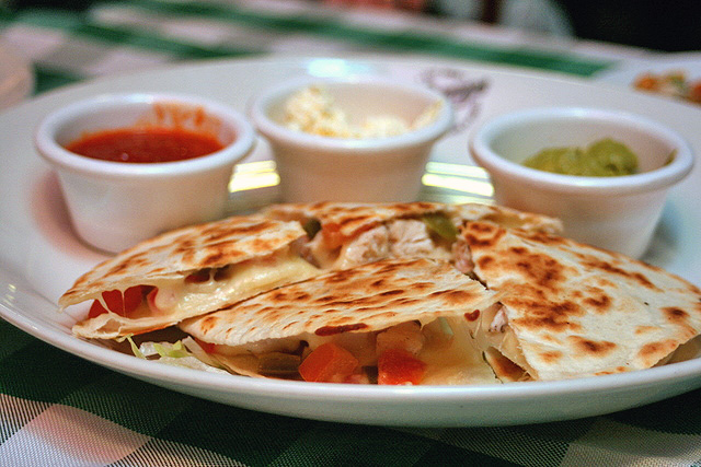 Quesadillas from O'Learys