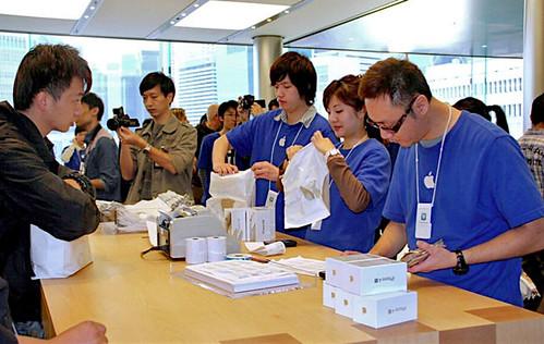 iPhone 4S Launch Hong Kong