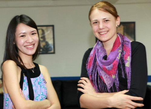 With Hanne, the Marketing Manager of Academy of Pastry Arts
