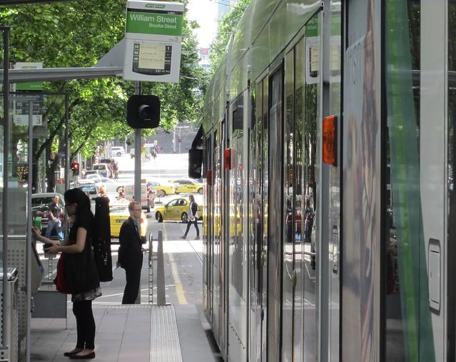 Tram lights not working