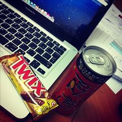 (aiman alawlaqi) Tags: red code mac twix pro jeddah 13 codered macbook macbookpro iphone4 instagram