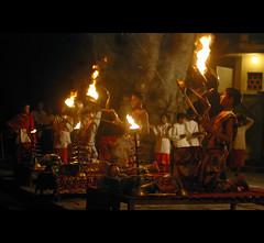 Aarathi, Banks of Shipra, Ujjain.